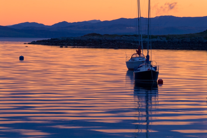 Lochranza Sunrise, Isle of Arran