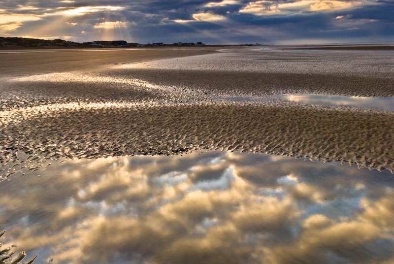 Camber Sands at Dawn, East Sussex