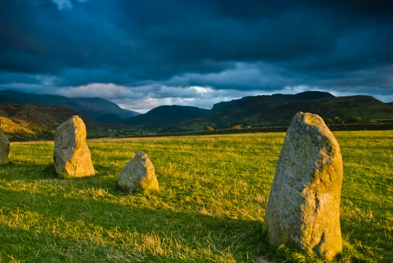 Dawn at Castlerigg Stone Circle, Lake District