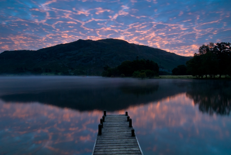 Ullswater sunrise, Glenridding