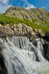 Stickle Gill waterfall, Langdale, Lake District