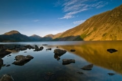 Wastwater, Lake District National Park, evening light