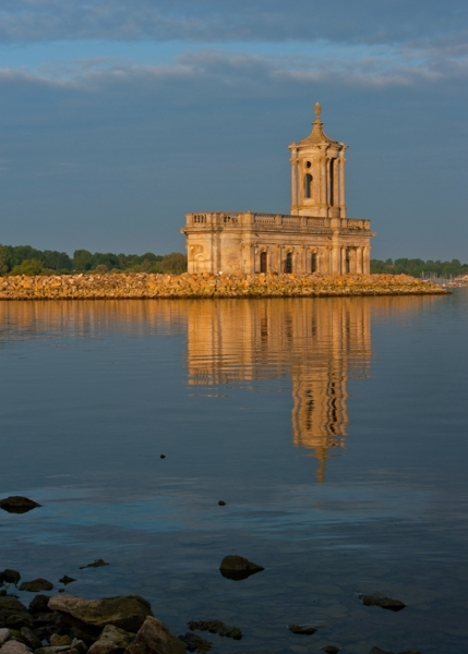 Normanton church, Rutland Water