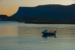 Fishing boat, Bunessan