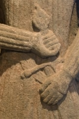 Iona carving