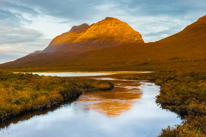 Liathach at dawn, Glen Torridon