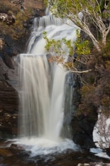 Ben Hope waterfall, Strathmore