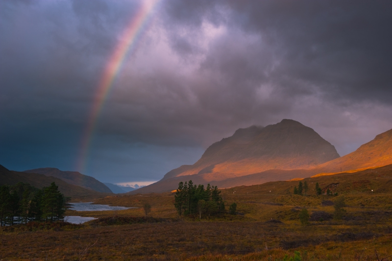 Glen Torridon rainbow
