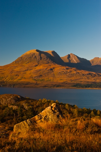 Loch Torridon and Beinn Alligin, Wester Ross