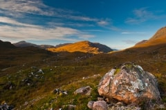 Glen Torridon, morning light