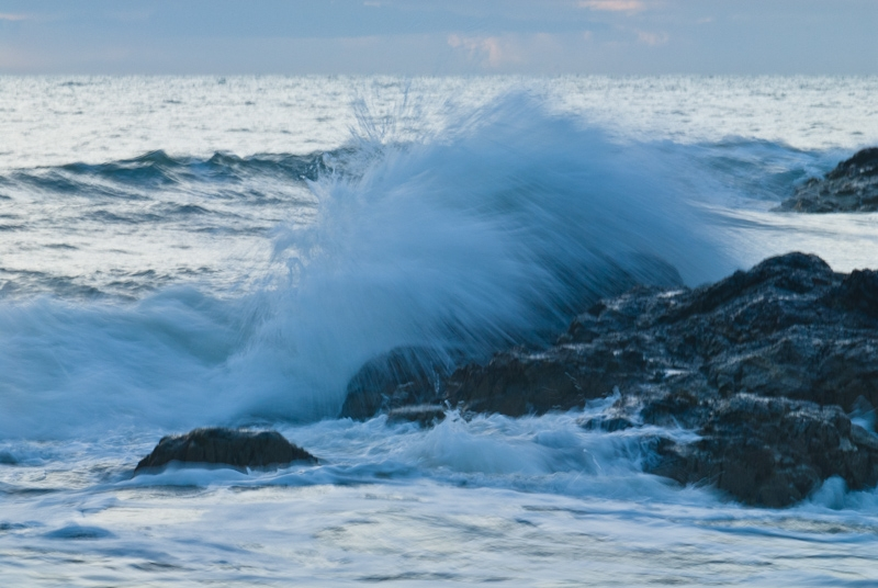 Stormy seas, Anglesey
