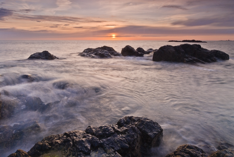 Church Bay sunset, Anglesey, Wales