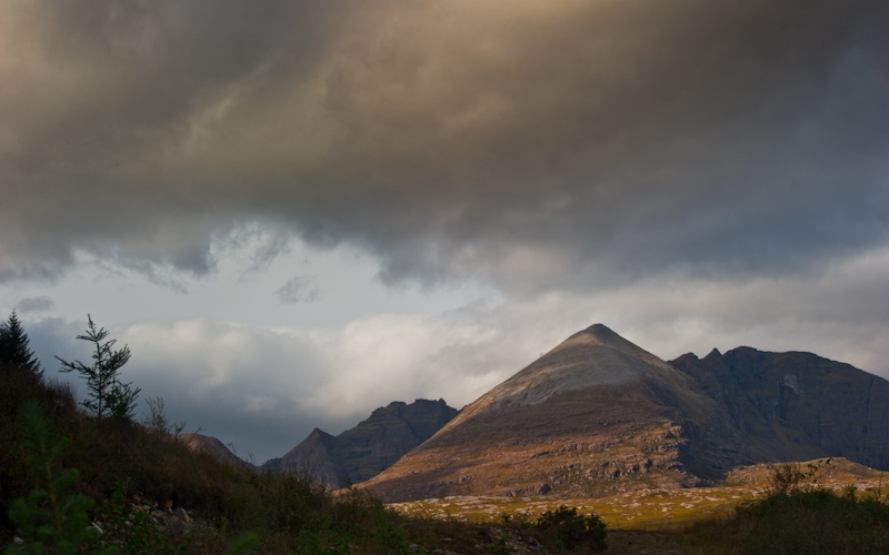 Clouds over An Teallach, Wester Ross